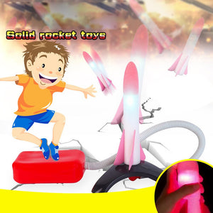 Foot Powered Pedal Soft Rocket Cultivate Parent-child Relationship Toy Baby toys gift birthday