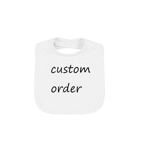 Culbutomind Newborn baby Custom Personality humor funny unique baby bibs Birthday Gifts