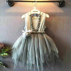 2019 Promotion Vestidos Mujer Humor Bear Summer Baby Girl Toddler Clothing Dress For Infant Princess Children's Dresses Kids