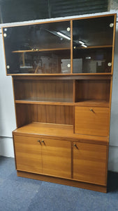 Original Turnidge of London Teak Display Cabinet - Large