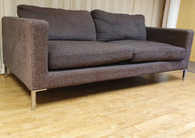 Load image into Gallery viewer, Modern 3 Seater Fabric Sofa