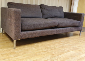 Modern 3 Seater Fabric Sofa
