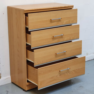 Alstons Cabinets 'Manhattan' 4 Drawer Chest of Drawers
