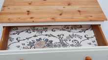 Load image into Gallery viewer, Vintage Solid Pine Chest of Drawers - White & Pine