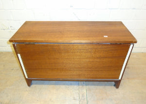 Wooden Storage Box/Chest With Hinged Lid - 175963