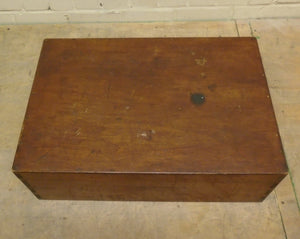Vintage-Style Small Dovetail Wooden Storage Box - 071220-05
