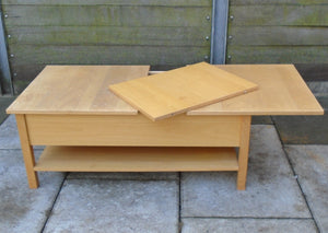 Extendable Coffee Table With Storage - 081220-01