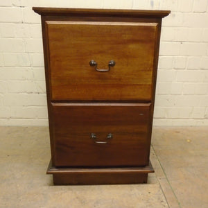 Vintage 2-Drawer Chest/Bedside Table - 221220-05