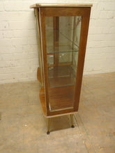 Load image into Gallery viewer, Vintage Retro Mid-Century Glass Display Cabinet - 221220-02