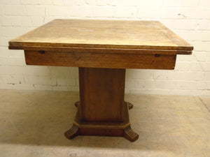 Vintage Solid Wood Extending Dining Table - 291220-01