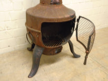 Load image into Gallery viewer, Vintage Antique Cast Iron Wood Burning Stove - 291220-10