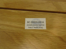 Load image into Gallery viewer, Joyce Small Oak Coffee Table - 291220-06