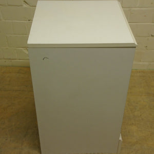 3 Drawer Bedside Table, White - 185598