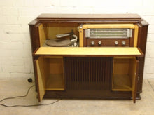 Load image into Gallery viewer, Vintage Antique Cabinet Record Player With Radio - 301220-02