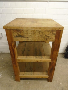 Single Drawer 3 Tier Side Table - 183736