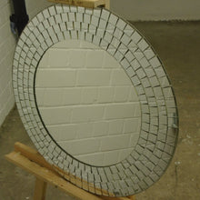 Load image into Gallery viewer, Modern Art Deco Styled Round Wall Mirror - 040121-06