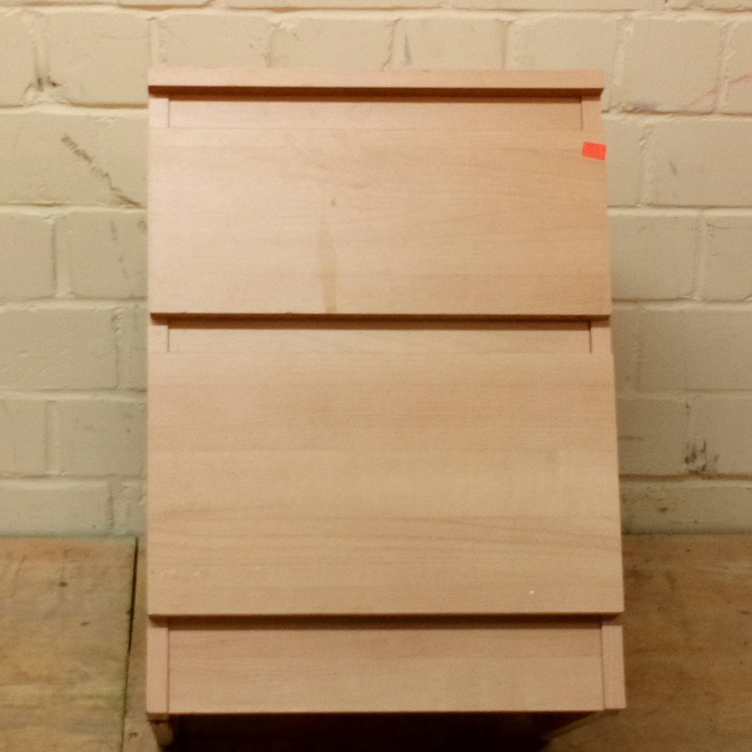 IKEA MALM 2 Drawer Bedside Cabinet Table