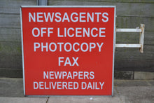 Load image into Gallery viewer, Advertising Outdoor Light Box Newsagents/Off License Sign, Wall Mounted - 121020-05