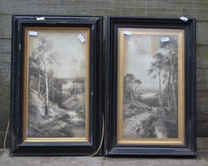 Pair of Douglas Graham Landscape Prints, Framed & Signed - 159819/159818
