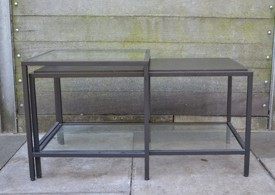 Set of 2 Nesting Coffee Table/Side Table