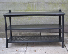Load image into Gallery viewer, IKEA PINNIG 3 Tier Bench With Shoe Storage - Black