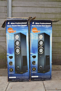 Theater Innovations T1-1250 Set of 2 Floor Standing Speakers