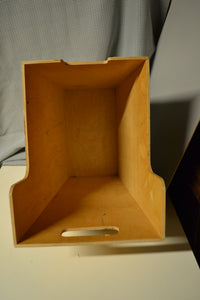 Wooden Magazine/Storage Box