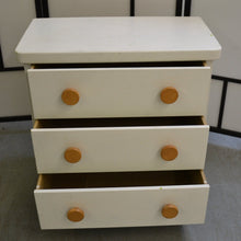 Load image into Gallery viewer, IKEA MAMMUT 3 Drawer Chest Of Drawers, Painted White - 190121-10
