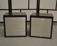 Load image into Gallery viewer, Matching Pair Of Small Roller Shutter Storage Cabinet Units - 190121-18/-19