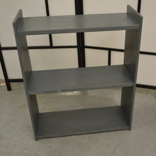 Load image into Gallery viewer, Small Freestanding Open 2 Shelf Bookcase, Grey - 190121-31