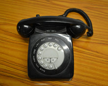 Load image into Gallery viewer, Geemarc Mayfair Classic Retro Telephone - Black / Push Button - 030221-08