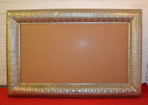 Large Decorative Moroccan Frame (Without Glass) - 110221-05