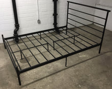 Load image into Gallery viewer, Black Metal Double Bed Frame  - 2004139