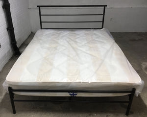 Black Metal Double Bed Frame  - 2004139