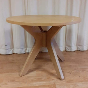 Small Round Side Table - Malmo by Dunelm