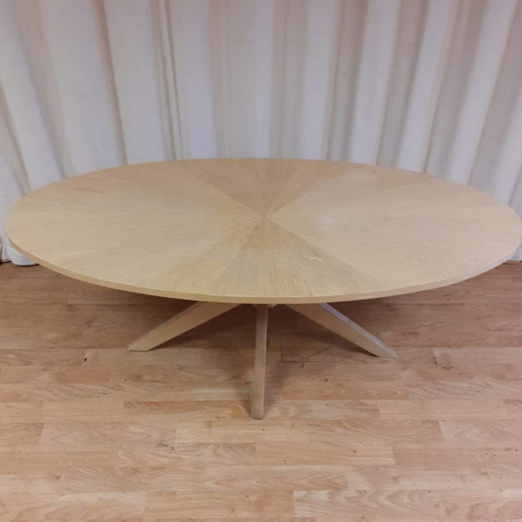 Oval Coffee Table - Malmo by Dunelm
