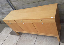 Load image into Gallery viewer, IKEA BJURSTA Sideboard With 3 Drawers & 2 Cupboards In Birch Veneer