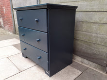 Load image into Gallery viewer, Aspace chest of drawers in dark blue/grey
