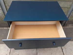 Aspace chest of drawers in dark blue/grey