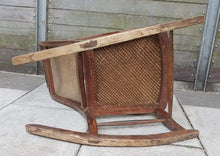 Load image into Gallery viewer, Vintage Rocking Chair, Hardwood, Rattan, Recliner
