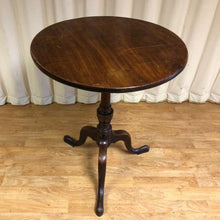 Load image into Gallery viewer, Vintage Tilt Top Side Table In Walnut
