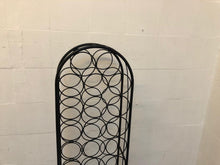 Load image into Gallery viewer, 32 Bottle Wrought Iron Wine Rack