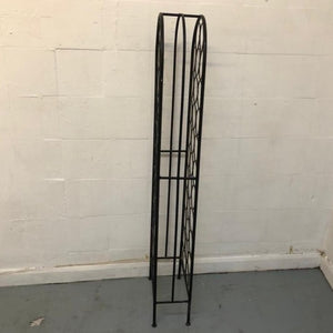 32 Bottle Wrought Iron Wine Rack