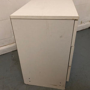 Small 3 Drawer Chest of Drawers, White - 1803009