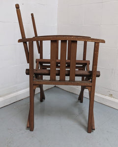 Wooden Folding Director's Chair (FRAME ONLY) - 176854