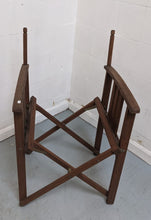 Load image into Gallery viewer, Wooden Folding Director's Chair (FRAME ONLY) - 176854