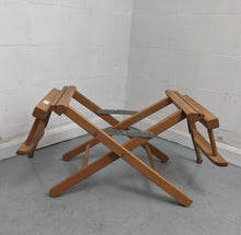 Load image into Gallery viewer, Wooden Folding 'Director's Chair' Style Chair Frame (FRAME ONLY) - 183289