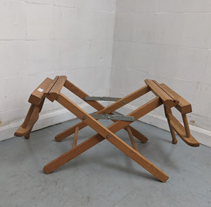 Wooden Folding 'Director's Chair' Style Chair Frame (FRAME ONLY) - 183289