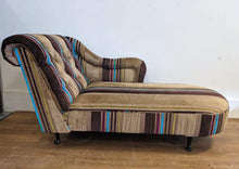 Load image into Gallery viewer, Modern Fabric Upholstered Right Facing Chaise Lounge, Multi-coloured - 160421-19