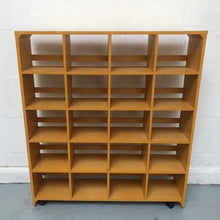 Load image into Gallery viewer, Pigeon/Cubby Hole Storage/Shelving Unit On Castors - 150321-06